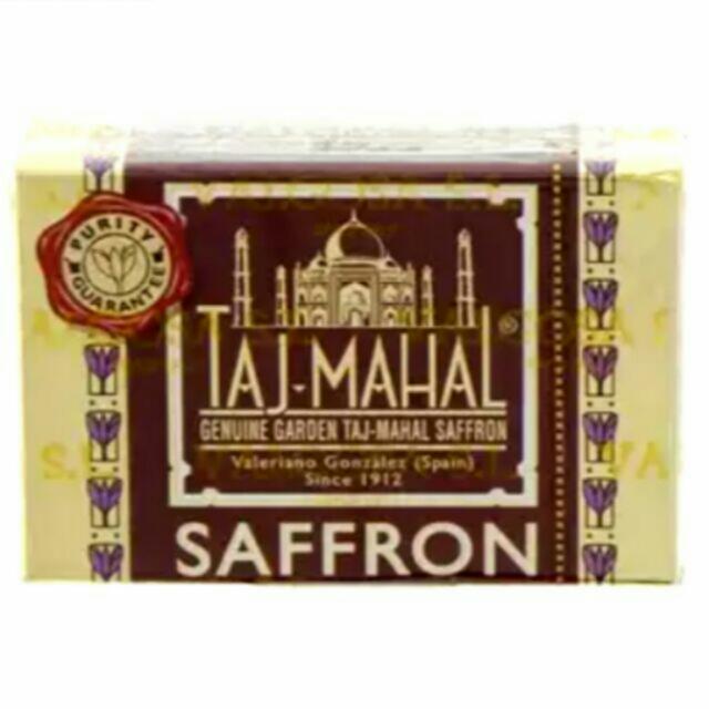 TAJ MAHAL SAFFRON 1gmPre-Orders accepted