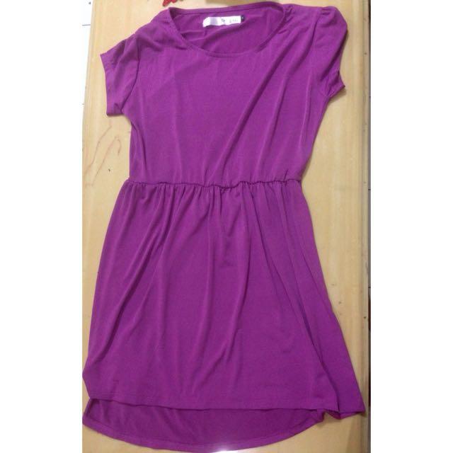 Ten & She's Purple Dress