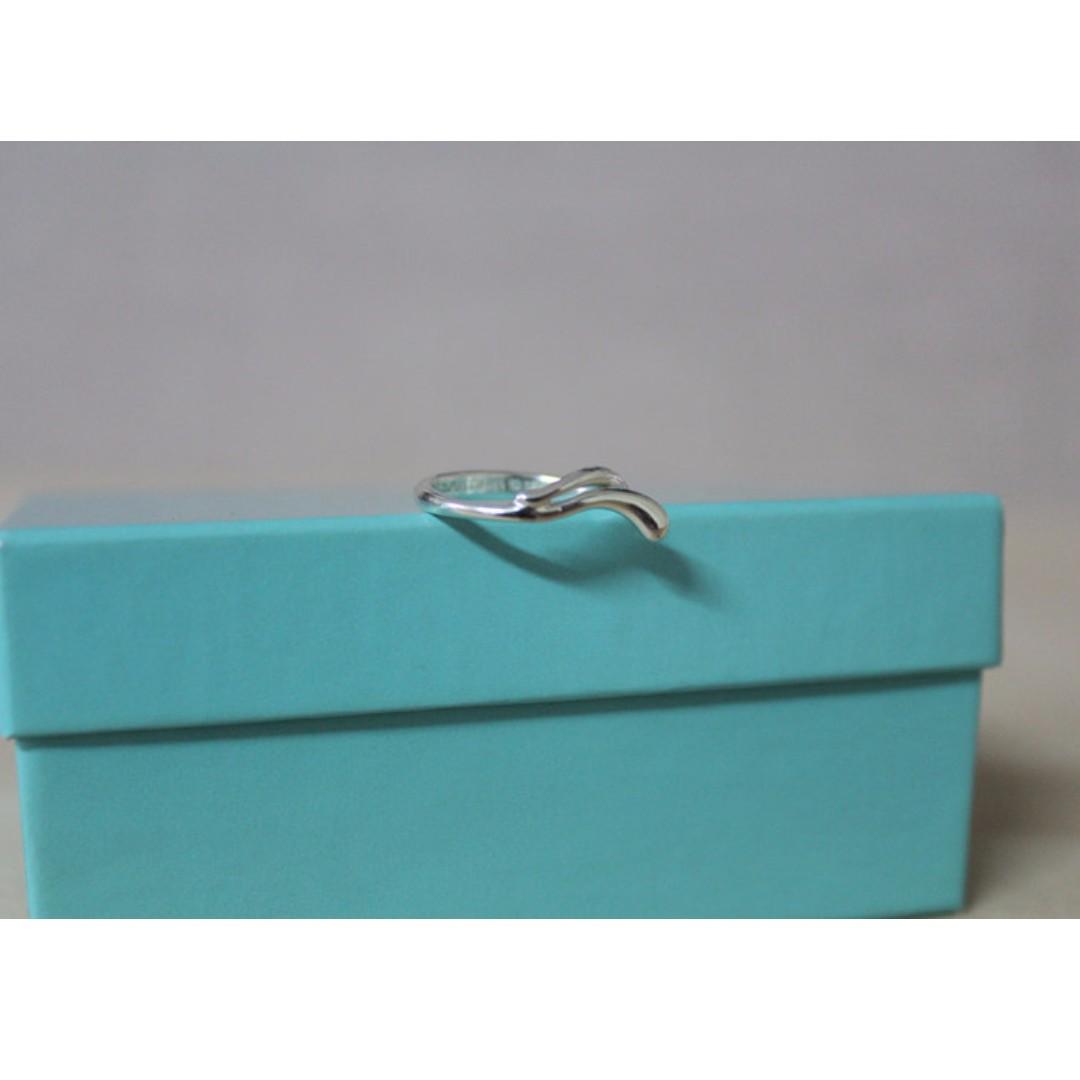 Tiffany & Co 925銀 經典造型戒指 6號