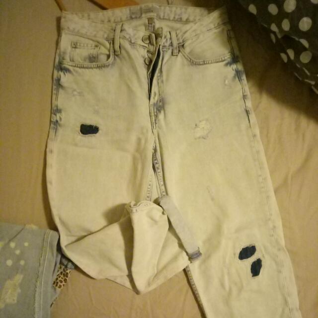 Topshop Boyfriend Jeans