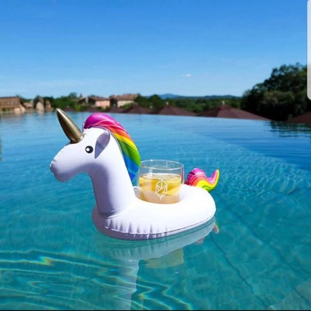 Unicorn Drink Holders / Pool party / Floating