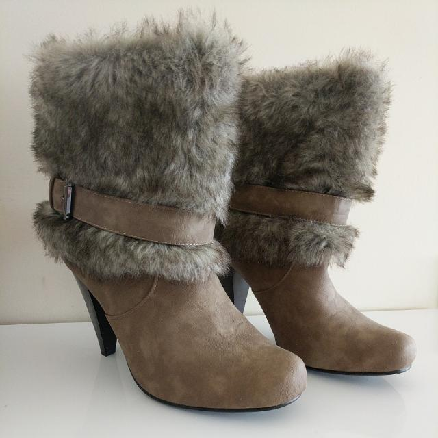 Urban G Leather Fur Boots