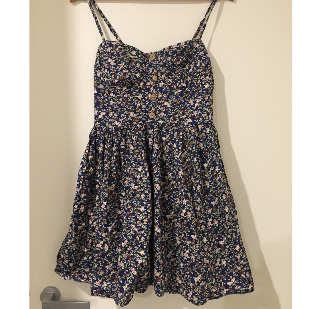 Valleygirl Floral Dress