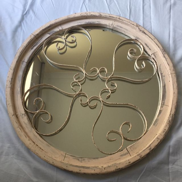 Vintage French Chic Mirror