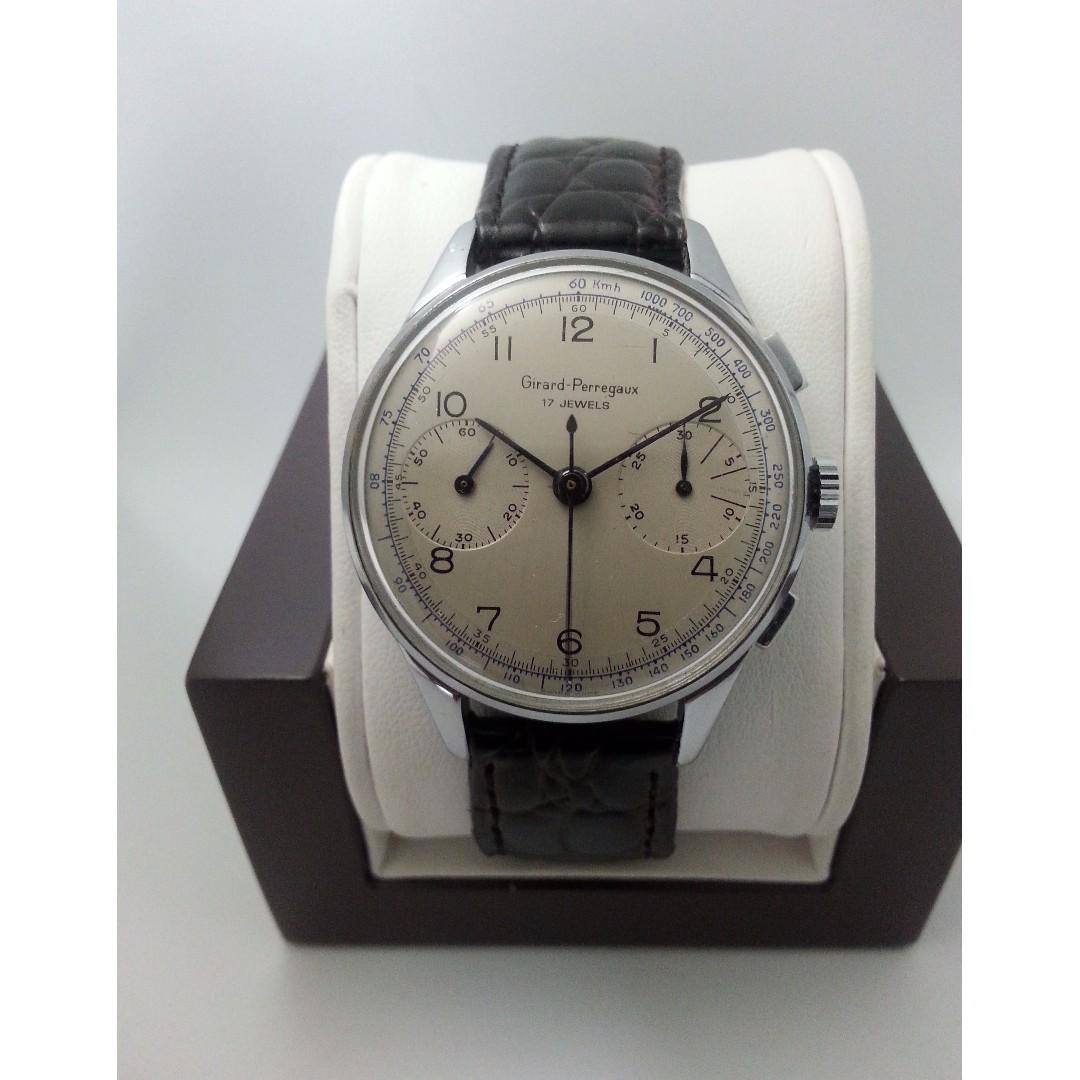 Vintage Girard-Perregaux Chronograph Valjoux 22
