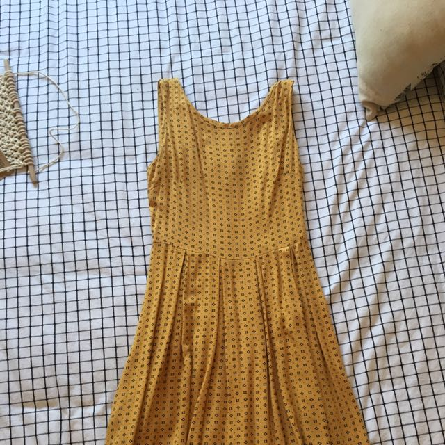 Vintage Glassons Mustard Mini