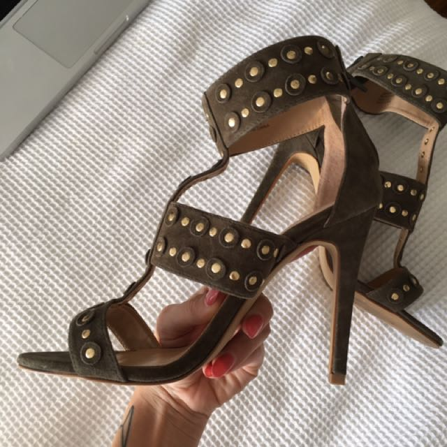 Wanted Studded Heels