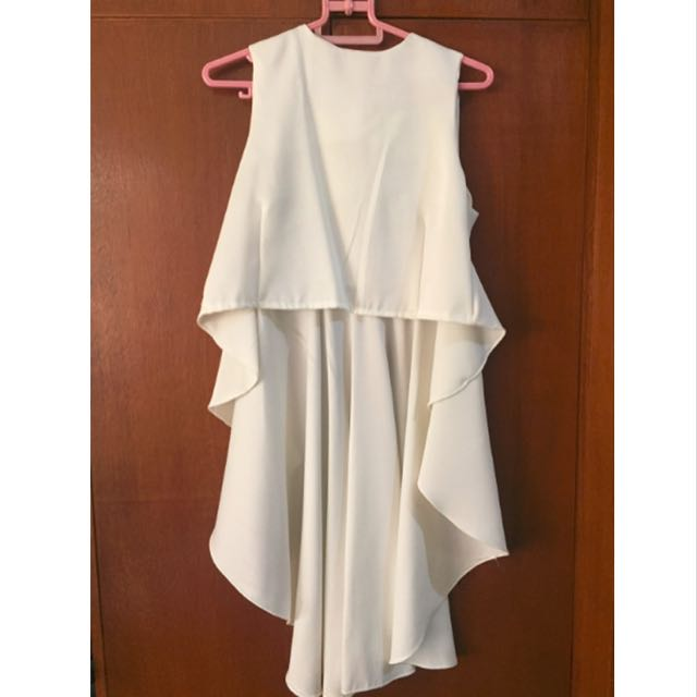White Dressy Top (Unused From Bangkok)