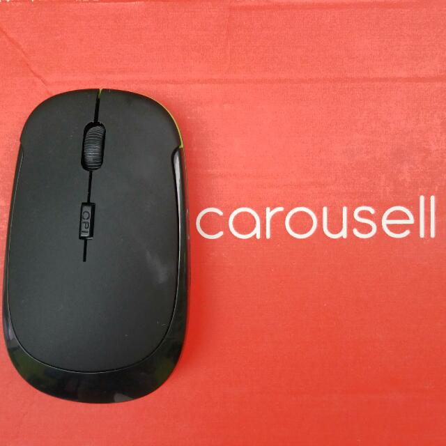 Wirelless slim Mouse