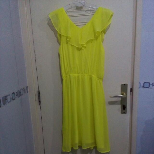 Yellow Light H&M Dress