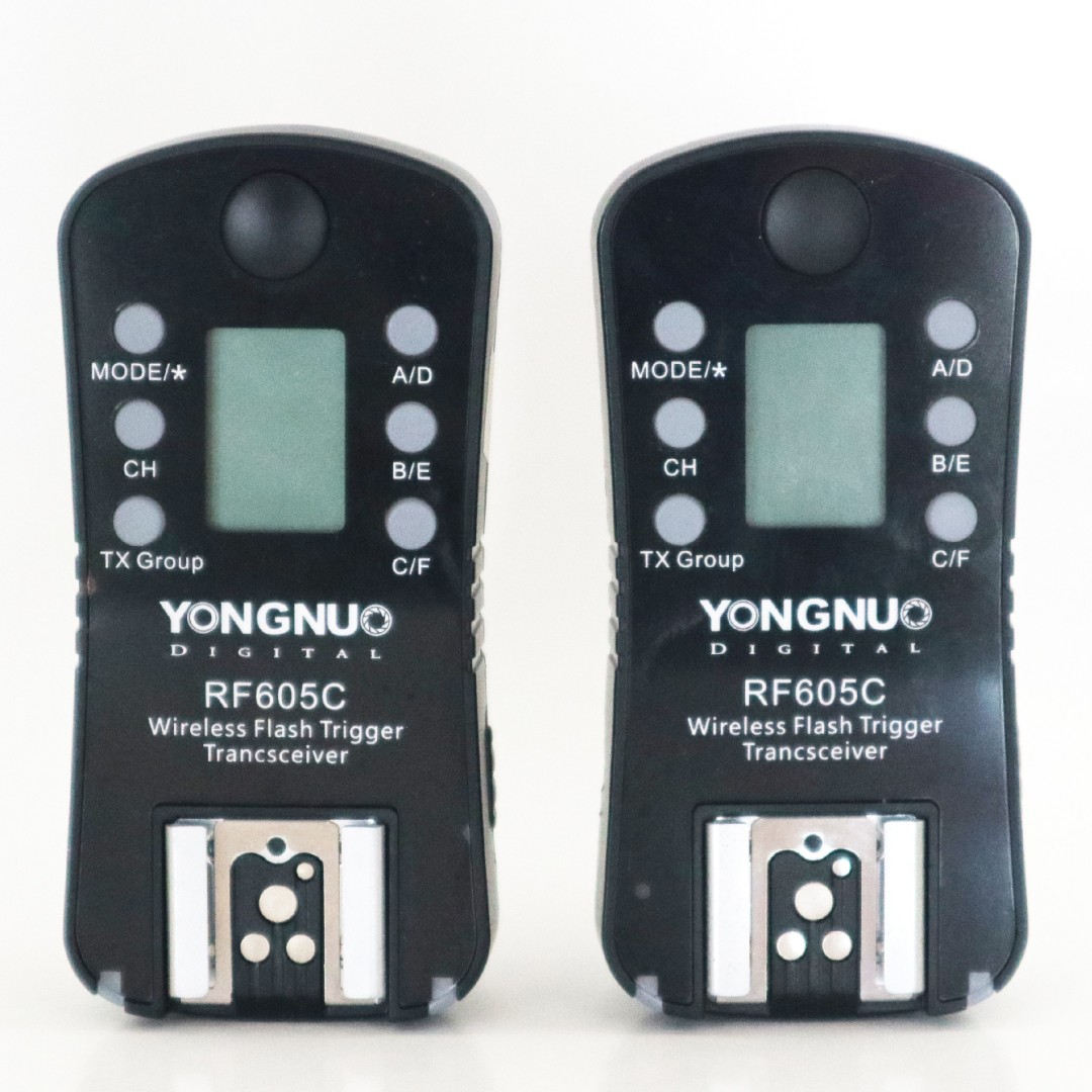 Yongnuo RF605C Wireless Flash Trigger Transceiver for Canon