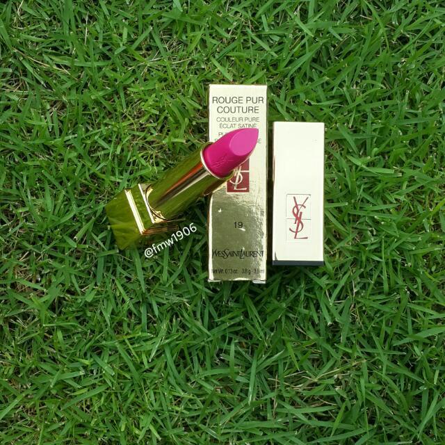YSL Lipstick RPC 19💄