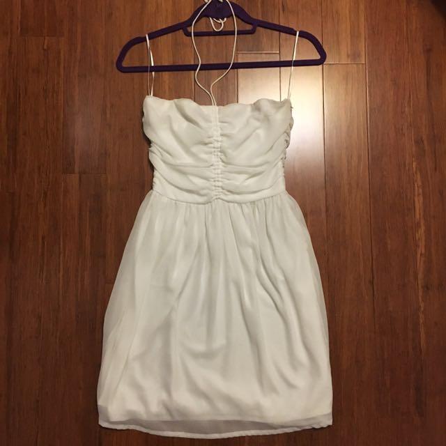 Zara Halter Chiffon Dress