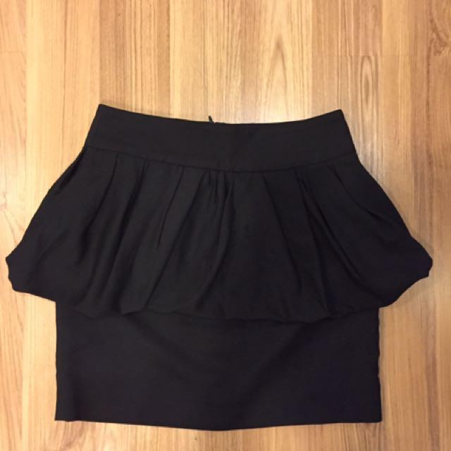 Zara Peplum Skirt