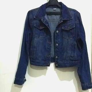 全新🆕➡牛仔單寧短版外套   #三百元外套