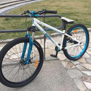 B'twin Subsin Double bmx 技術車 特技車 攀岩車 單速車