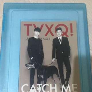 TVXQ Catch Me Notebook
