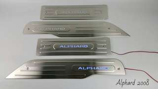 Toyota Alphard 2008 Side Steel Plate with LED