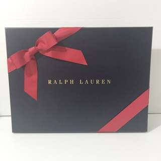 ❤️ Authentic Ralph Lauren Gift Box With Ribbon & Tissue