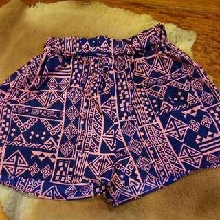LOVE CULTURE Highwaist Chiffon Summer Shorts
