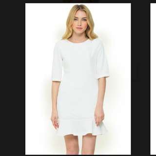 Look boutique white dress