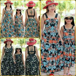 maxi dress for mother and daughter