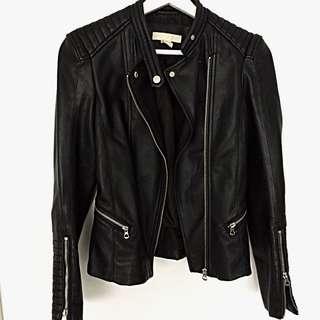 Faux Leather Jacket H&M 34 XS