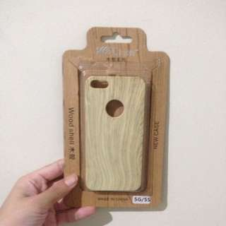 Casing Iphone 5/5s Kayu Merk Languo
