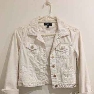 Price Drop!! White Jacket [8] Forever New