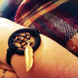 Hand-Made Dreamcatcher Bracelet