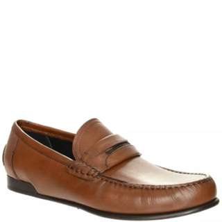 Dolce And Gabbana Leather Loafer Shoes 10US MADE in ITALY RRP Over $1,000