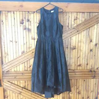 Size 10 Portmans Signature Black Dress