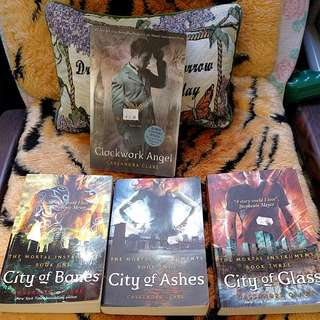 📚 The Mortal Instruments Series