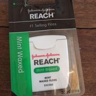 Reach Mint Waxed Floss