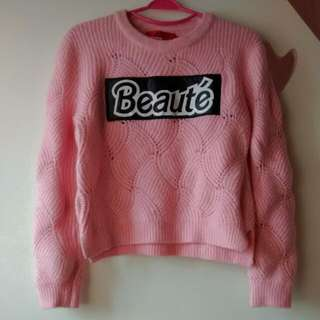 Jeans Pink Sweater