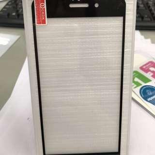 iPhone 7 & Plus鋼化玻璃保護貼 黑色烤漆 強化玻璃貼合防刮 玻璃原廠認證 現貨