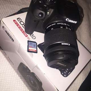 CANON 700D BUNDLE