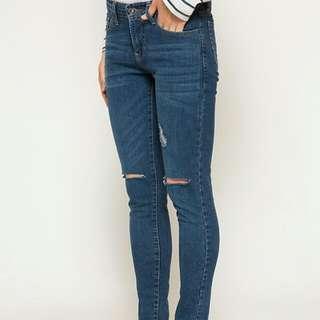 Nevada Jeans L Blue Baru (Jual Rugi)
