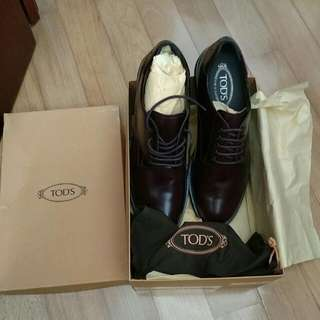 Tods Derby Fonda Zeppa UK 9