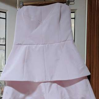 Pink Playsuit Size M