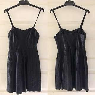 Vegan Leather Dress (Free People)