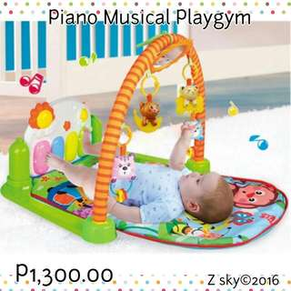 Fisher Price Active Piano Play Gym