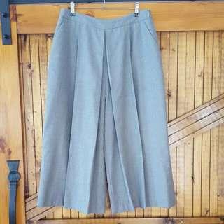 Grey Zara Culottes Size L