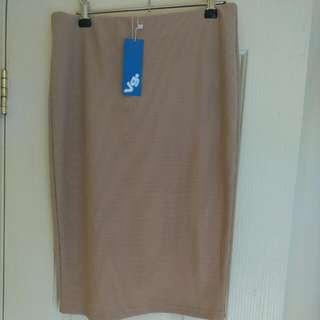 Valley Girl Beige Skirt