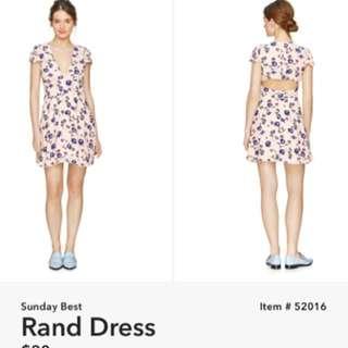 Aritzia Sunday Best Dress
