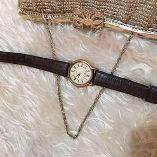 Maruman Wrist Watch Leather