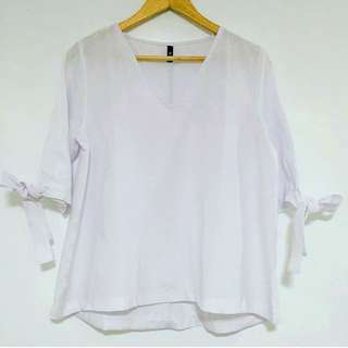 Tie Sleeves Swing Top