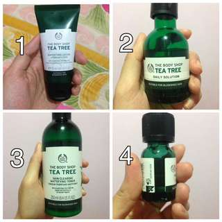 Tea Tree Series By The Body Shop