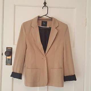 Cotton On Brown Jacket Size S