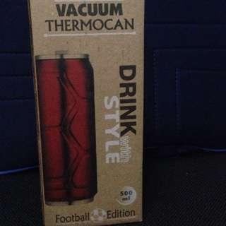 VACUUM THERMOCAN DRINK Football Edition